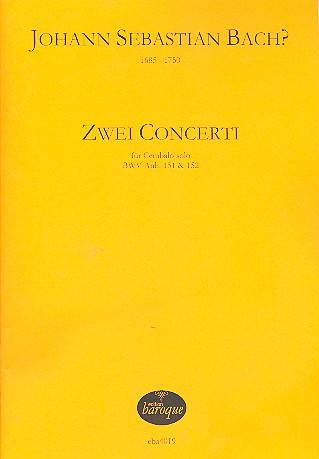 2 Konzerte: für Cembalo