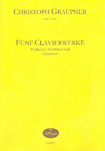 5 Clavierwerke: für Klavier