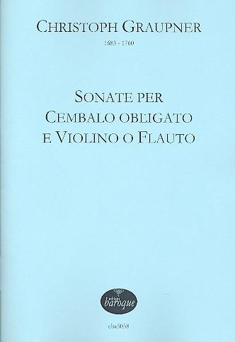 3 Sonaten: für Violine (Flöte) und Cembalo