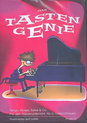 Das Tastengenie: für Klavier zu 4 Händen Spielpartitur