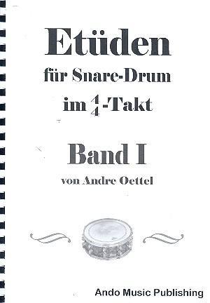 Etüden im 4/4-Takt Band 1: für Snare Drum