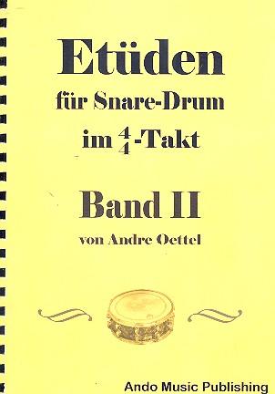 Etüden im 4/4-Takt Band 2: für Snare Drum