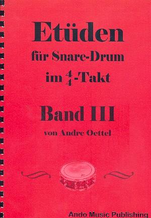 Etüden im 4/4-Takt Band 3: für Snare Drum