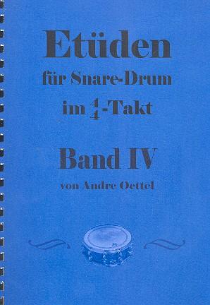Etüden im 4/4-Takt Band 4: für Snare Drum