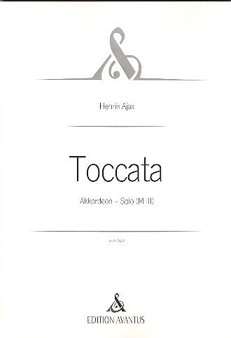 Toccata: für Akkordeon