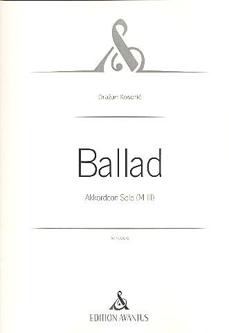 Ballad: für Akkordeon