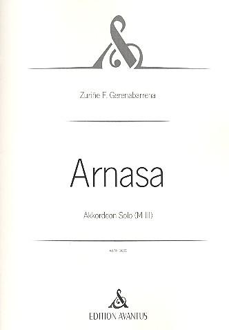 Arnasa: für Akkordeon