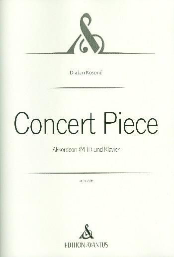 Concert Piece: für Akkordeon und Klavier