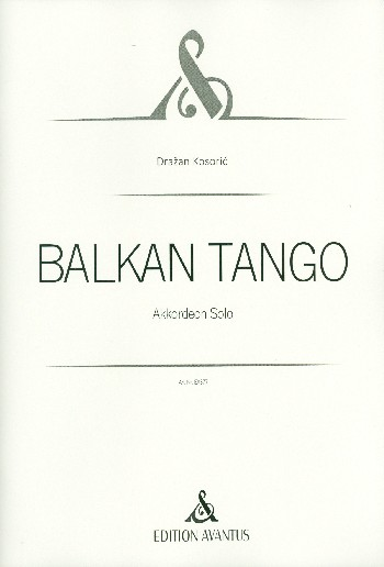 Balkan Tango: für Akkordeon