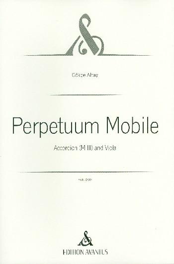 Perpetuum mobile: für Viola und Akkordeon