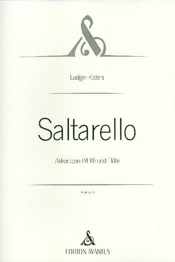 Saltarello: für Flöte und Akkordeon