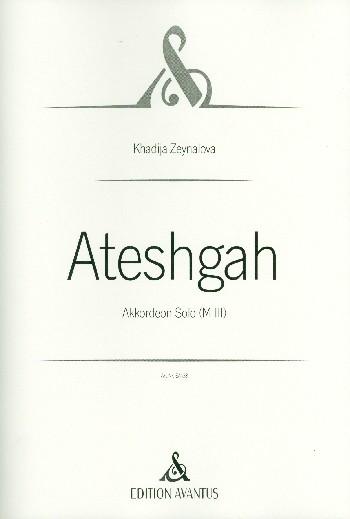 Ateshgah: für Akkordeon