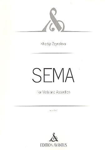 SEMA: für Viola und Akkordeon