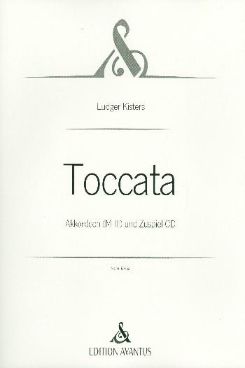 Toccata (+CD): für Akkordeon