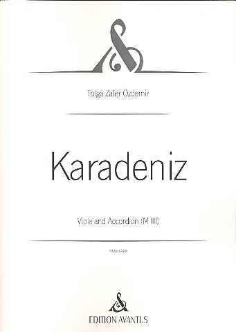 Karadeniz: für Viola und Akkordeon
