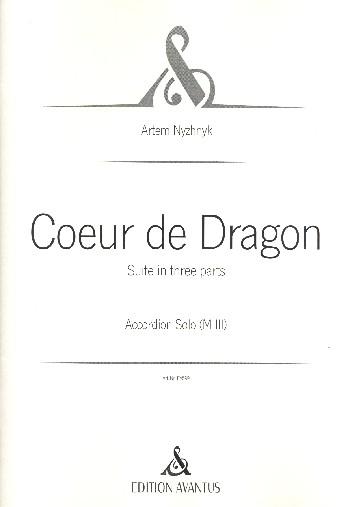 Coeur de dragon: für Akkordeon