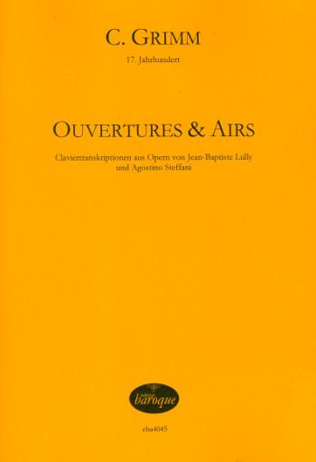 Ouverturen und Airs : - Vollanzeige.