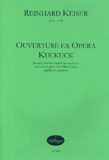 Ouverture ex opera Kuckuck : - Vollanzeige.