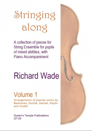 Stringing along vol.1: for string ensemble (violins and cellos) and piano