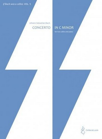 Concerto in c Minor for 2 cellos and String Orchestra BWV1060: for 2 cellos and piano