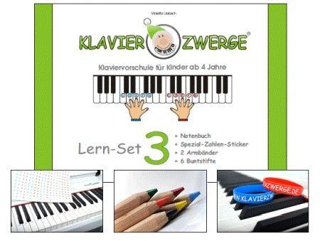 Liebsch, Violetta - Klavierzwerge Band 3 : Set