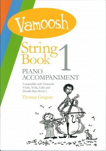 Vamoosh String Book vol.1: for string instrument and piano
