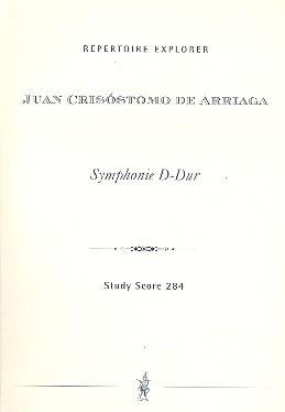 Sinfonie D-Dur: für Orchester Studienpartitur