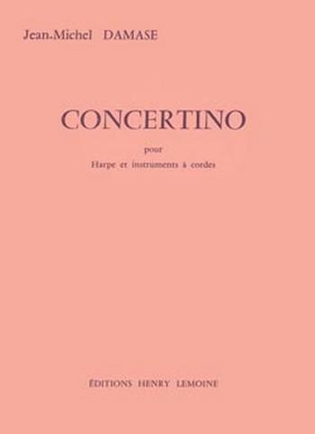 Concertino pour harpe et instruments a cordes, partition+parties