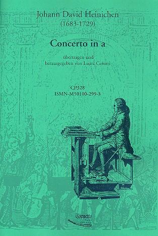 Concerto a-moll für Orchester: für Orgel oder Cembalo