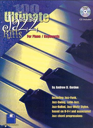 100 ultimate jazz riffs (+CD): for piano/ keyboards
