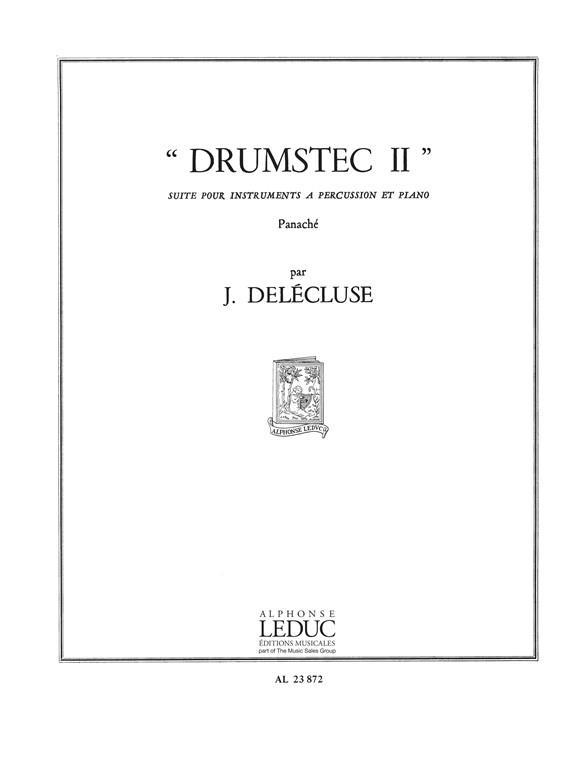 Drumstec 2: pour instruments a percussion et piano