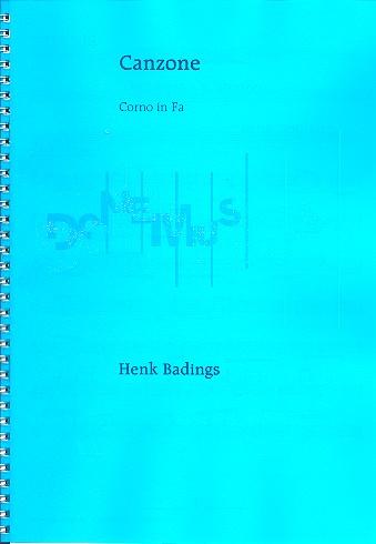 Canzone: für Horn und Orgel