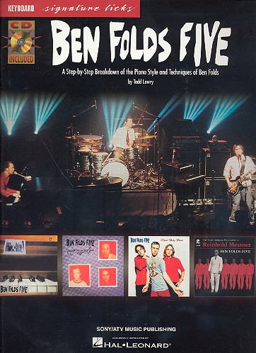 Ben Folds Five (+CD): keyboard signature licks