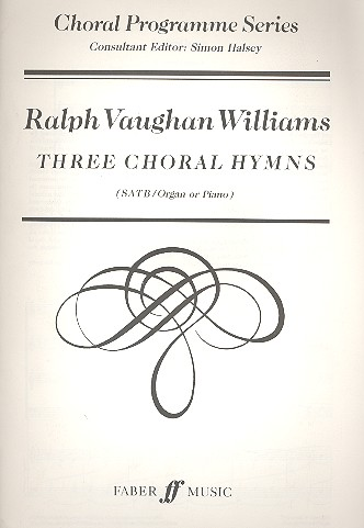 3 Choral Hymns: for mixed chorus and organ or piano, score