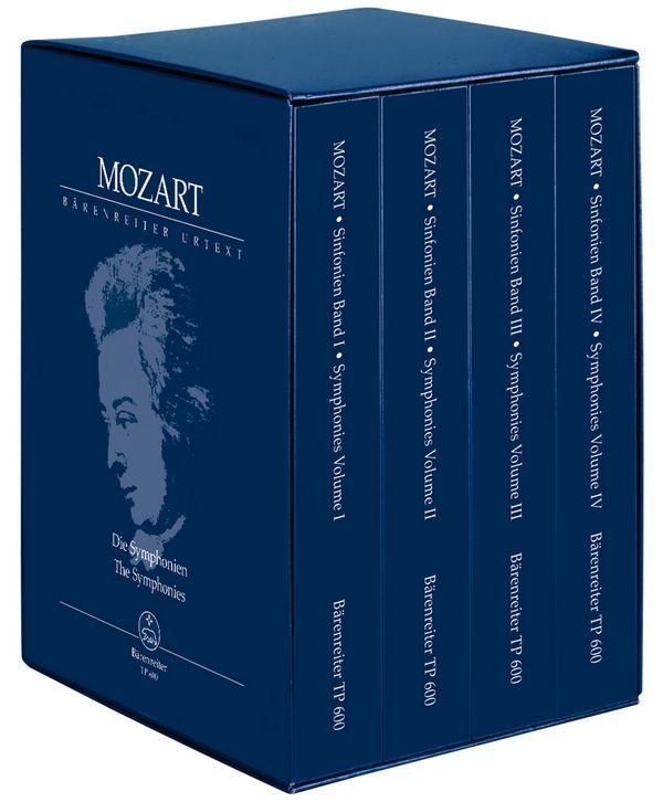Die Sinfonien Band 1-4: für Orchester Studienpartitur (im Schuber)