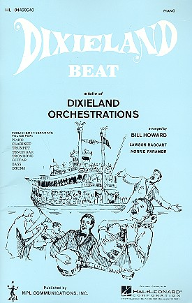 Dixieland Beat: for combo piano part