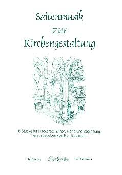 Saitenmusik zur Kirchengestaltung: für Hackbrett, Zither und Harfe