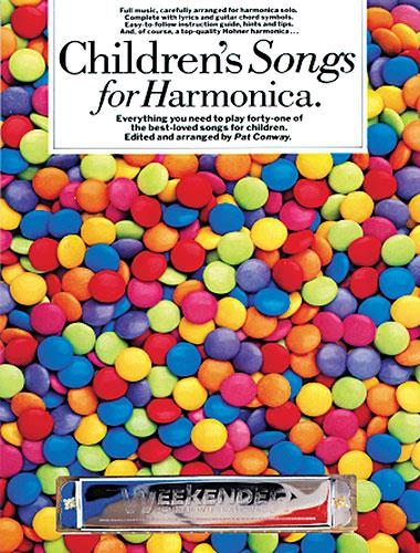 Childrens songs for harmonica: everything you need to play 41 of