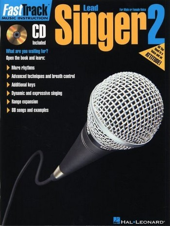 Fast Track Lead Singer vol.2 (+CD): for male or female voice