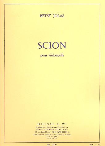 Scion: pour violoncelle -1973