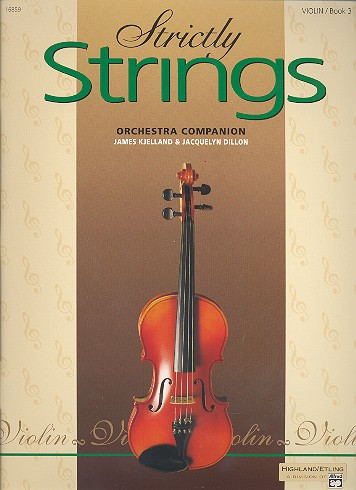 Strictly strings vol.3: for violin orchestra companion