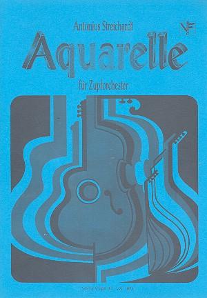 Aquarelle: für Zupforchester Partitur