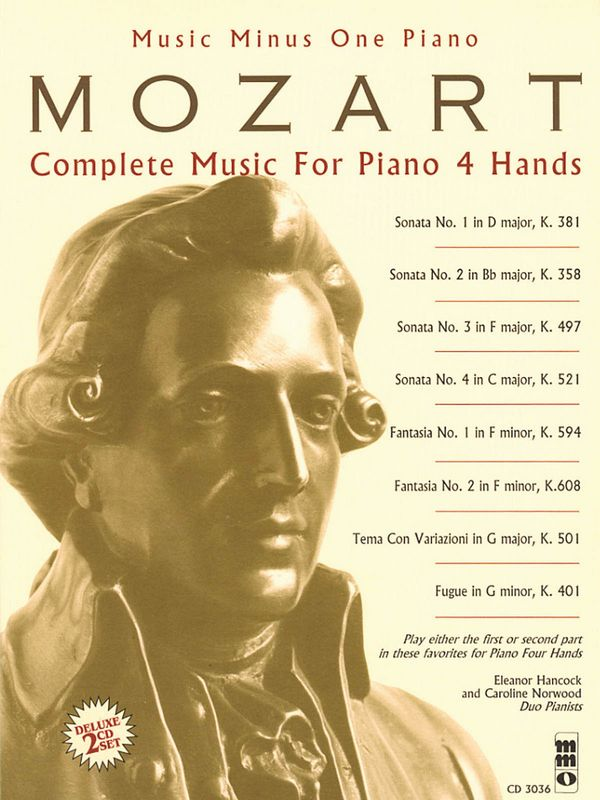 Music minus one piano: complete music for piano