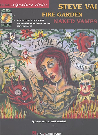 Steve Vai: Fire garden - Naked vamps (+CD): guitar styles and techniques