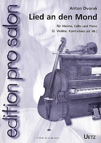 Dvorák, Antonín - Lied an den Mond aus Rusalka : für Violine,