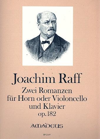 2 Romanzen opus.182: für Horn (Violoncello) und Klavier