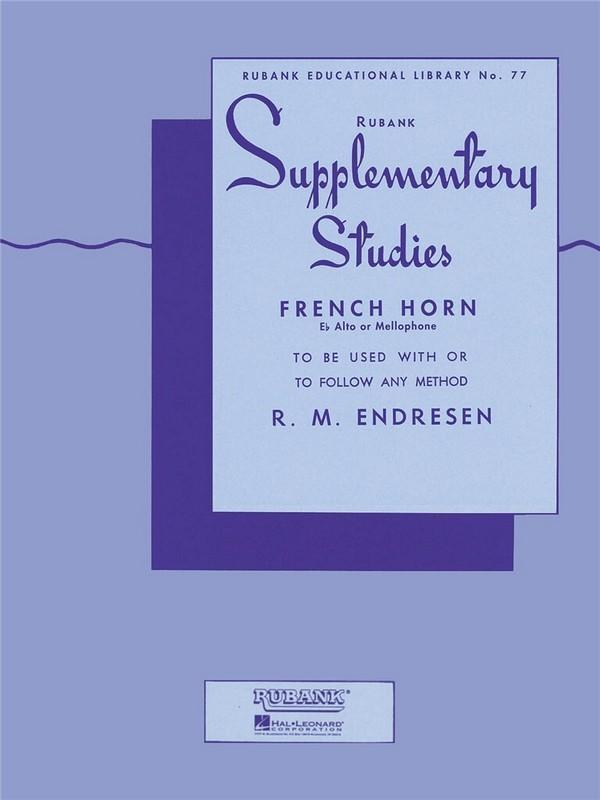 Endresen, R. M. - Supplementary studies :
