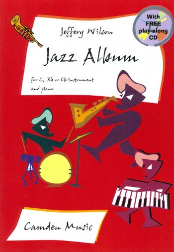 Jazz album (+CD): for c, b flat or e flat instrument