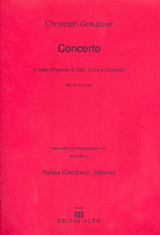 Concerto D-Dur Nr.19: für Viola d\