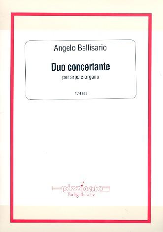 Duo concertante opus.119: per arpa e organo